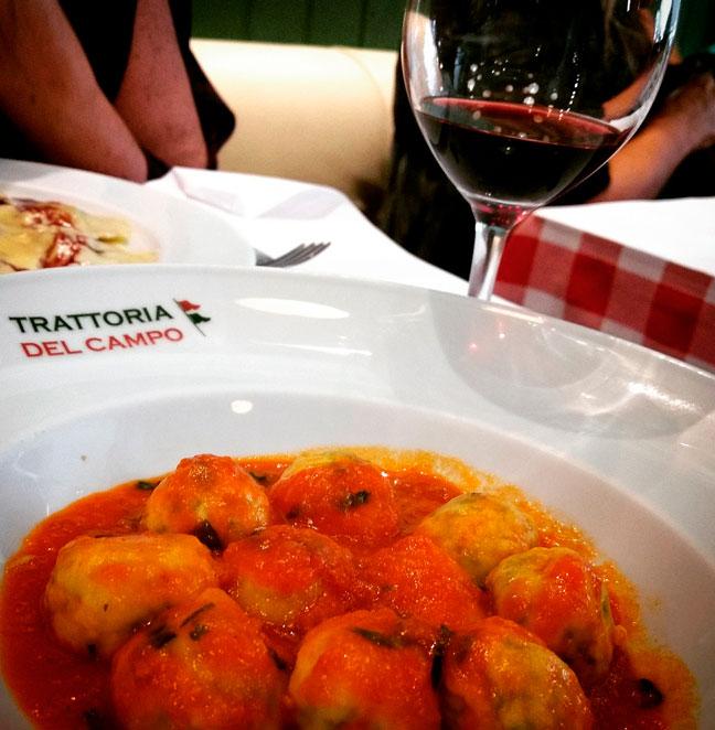 Restaurantes Italianos em São Cristóvão: Trattoria del Campo