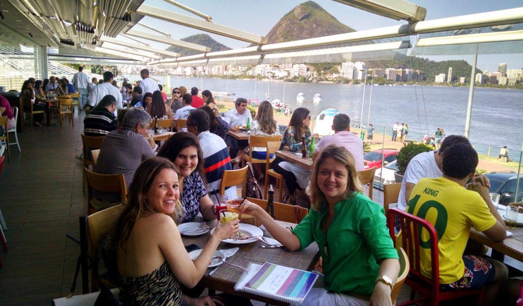Bons restaurantes com vista no Rio de Janeiro: Lagoon San Remo