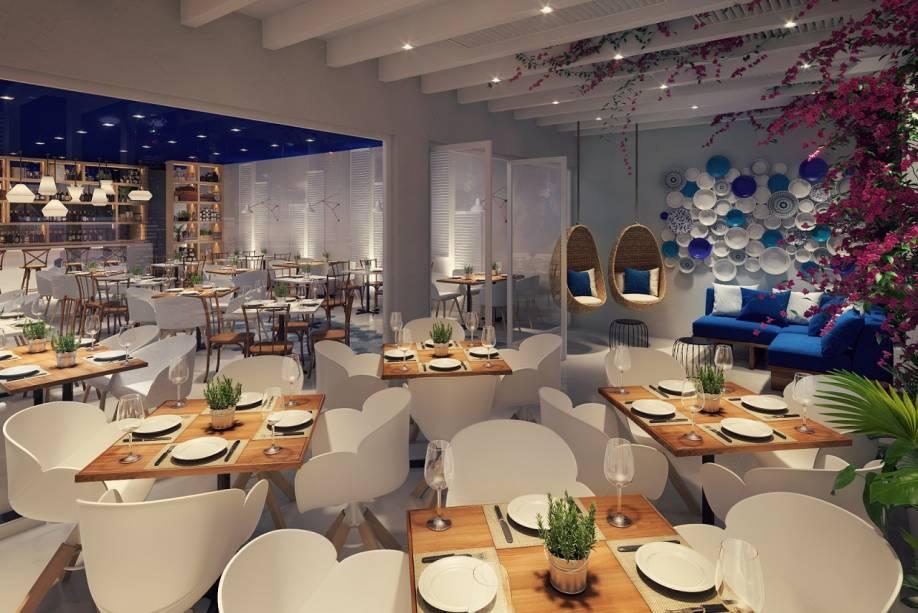 Novos Restaurantes: Oia Mediterrâneo