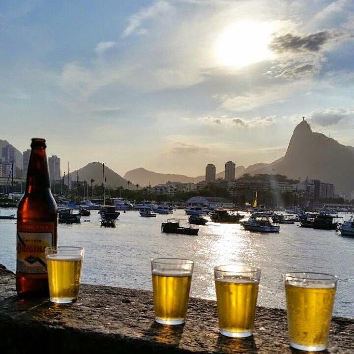 Dez lugares com por do sol imperdível pelo Brasil: Mureta Urca - RJ