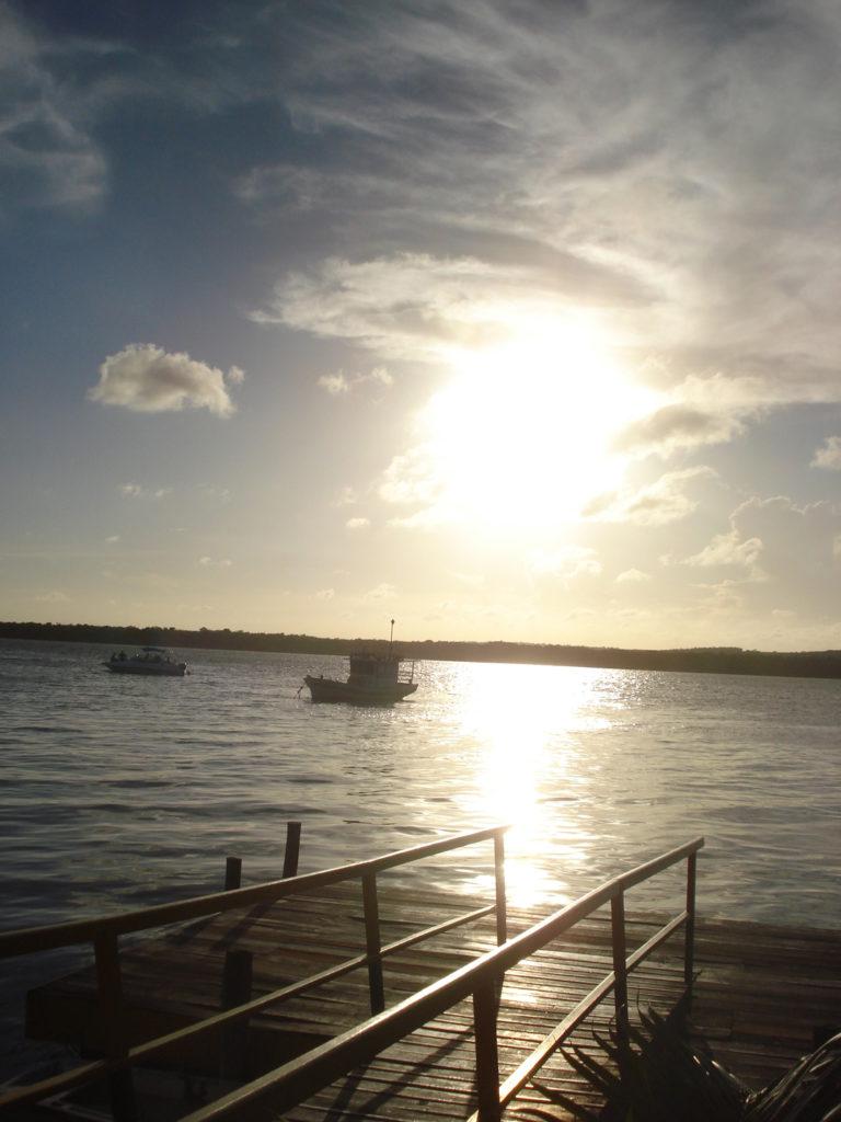 Dez lugares com por do sol imperdível pelo Brasil: Praia do Jacaré- PB