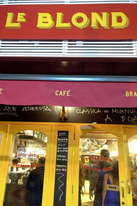 Le Blond: A nova Brasserie do Chef Claude Troisgros