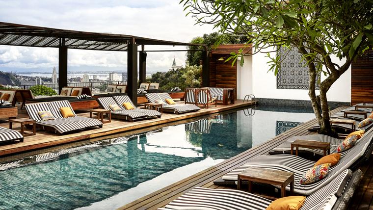hotéis exclusivos no RJ para comemorar o dia dos namorados: Hotel Santa Tereza Rio